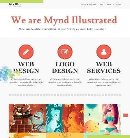 Mynd इस वर्ष के लिए सबसे अच्छा मुफ्त WordPress विषयों में से एक है।